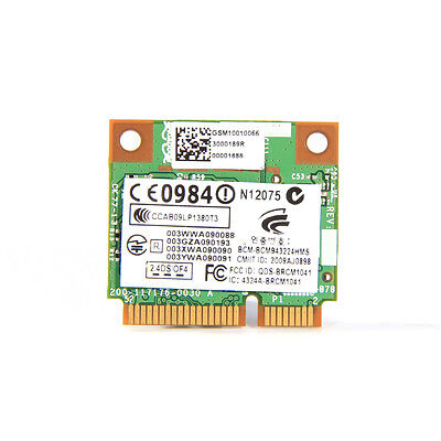 300Mbps Broadcom Bcm43224 Bcm943224hms Abgn Dual Band Wireless Wifi Pci E Card
