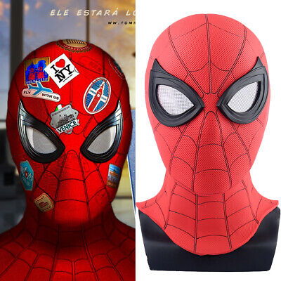 2019 Movie Spider-Man 2 Far From Home Peter Parker Cosplay Masks PVC Halloween](Movie Masks Halloween)