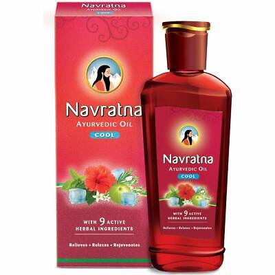 HIMANI NAVRATNA OIL AYURVEDIC COOL OIL MASSAGE RELIEF RELAXATION, -