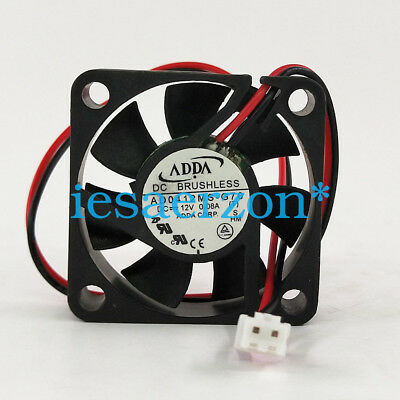 for ADDA AD0412MS-G70 4CM 40mm 4010 DC 12V best quiet silent cpu cooler
