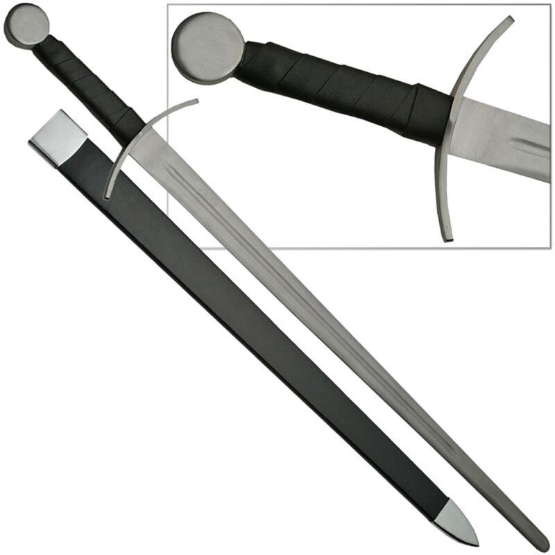 Type XIIa Knightly Sword Medieval Sparring Full Tang Blunt Bruiser Practice