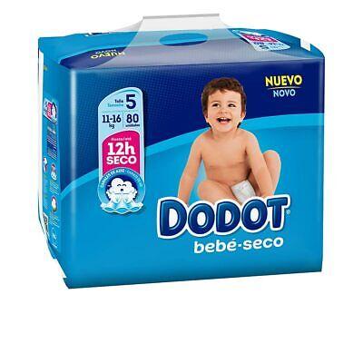 Accesorios y Otros Dodot unisex DODOT ETAPAS T5 pañales 11-16 kg 80...