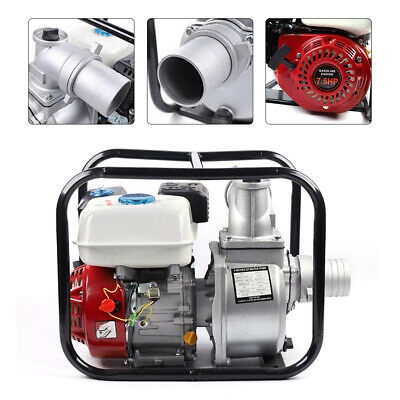 7.5hp 4-stroke Gas Powered Portable Water Transfer Pump Irrigation 60m3h 3.6l