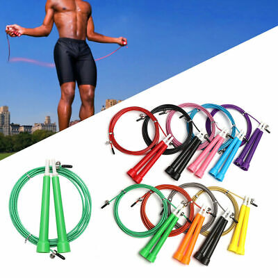 3M Skipping Rope Fitness Jumping Weight Loss Exercise Gym Boxing Training UK