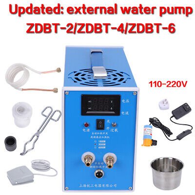 110-220v High-frequency Zvs Induction Heater Heating Machine Quenching Furnace