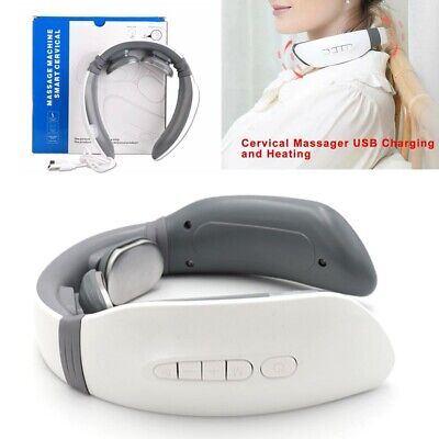Pro Electric Cervical Neck Massager Body Shoulder Relaxed Massage Relieve Pain