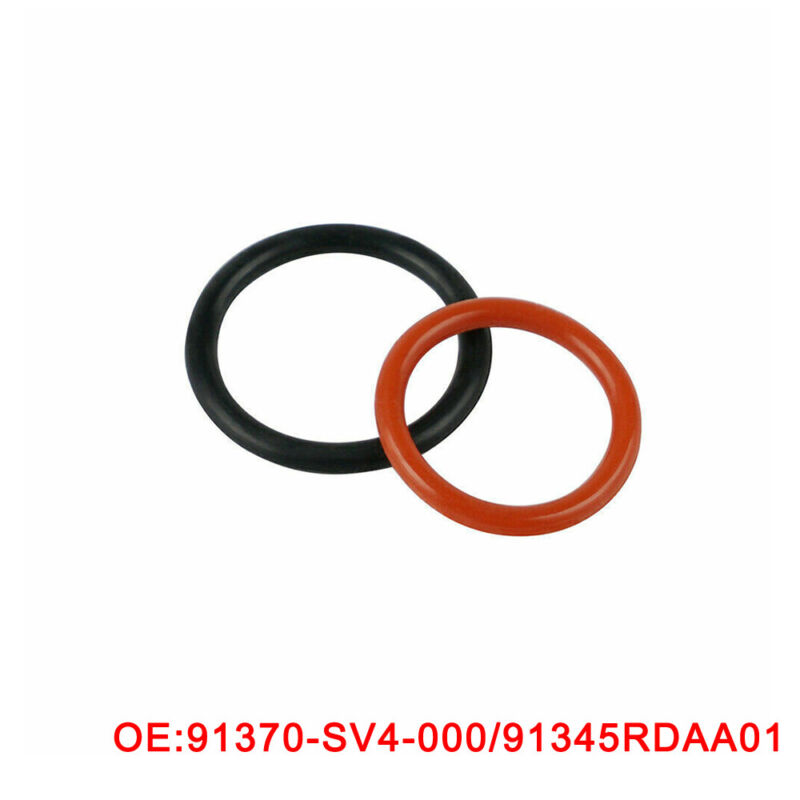 For HONDA ACURA Power Steering Pump Rubber Inlet & Outlet
