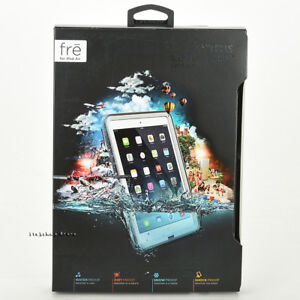 LifeProof FRE iPad Air 1st Generation Waterproof Case Cover WHITE GRAY NEW