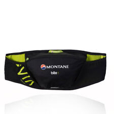 Montane Bite 1 Litre Belt Waistpack Mens Womens Black Waterproof Zip Pocket