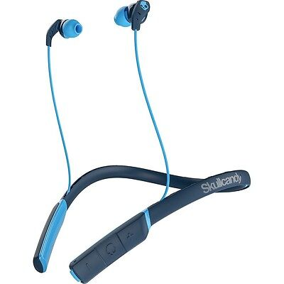 Skullcandy Method In-Ear Wireless Headphones with Built-In Mic & Controls - Blue