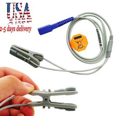 9 Pins Veterinary SpO2 Ear Lingual Sensor Probe VET Fit For NELLCOR USA STOCK CE for sale  USA
