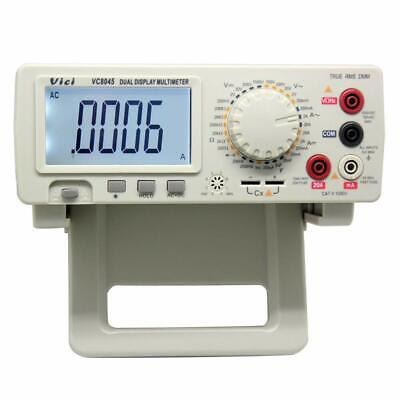 4 12 Digit Lcd Display True Rms Bench Type Digital Multimeter With Backlight