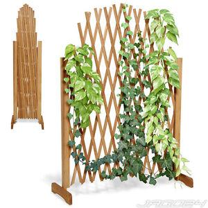 treillage plante grimapante cran de jardin cl ture treillis extensible en bois ebay. Black Bedroom Furniture Sets. Home Design Ideas