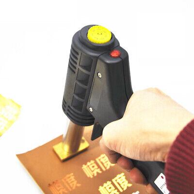 Leather Hot Foil Stamping Diy Logo Heating Embossing Stamp Machine 110v Embosser
