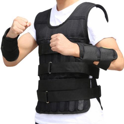Weighted Vest Workout Equipment Adjustable Gym Training Empt