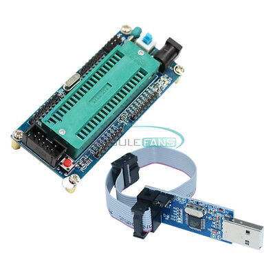 Atmega16 Minimum Avr System Board Atmega32 Usb Isp Usbasp Programmer Cable