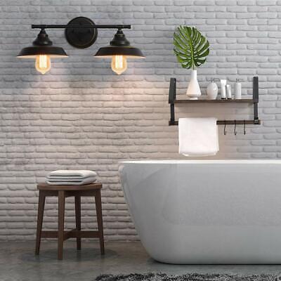 Industrial Bathroom Vanity Light Wall Sconce Lamp Makeup Mirror Lighting Fixture
