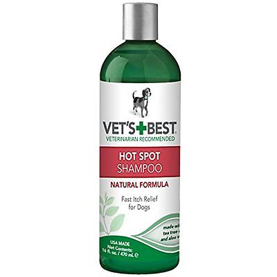 Vet's Best Natural Hot Spot Dog Shampoo for Itchy, Dry, and Irritated Skin 16