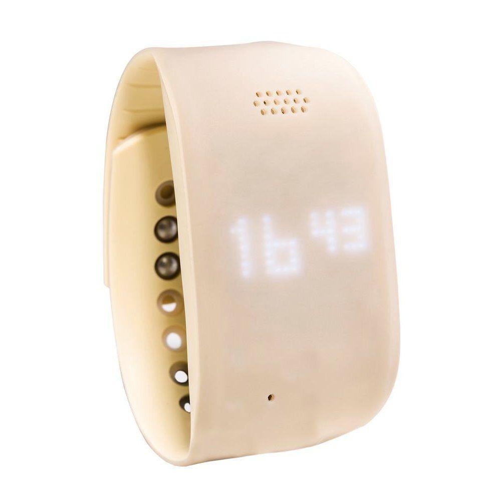 Zembro Notrufarmband - Beige - Senioren Smartwatch mit GPS und Notruf