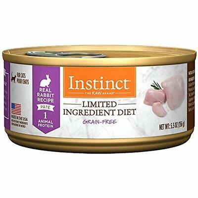SALE Limited Ingredient Diet Grain Free Real Rabbit Recipe Natural Wet Canned By