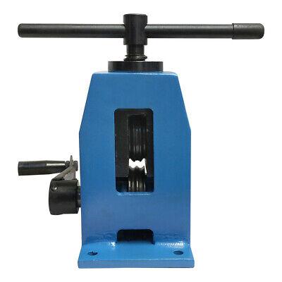 Manual 34 X 116 Stripe Flat Steel Pressing Roll Bender Band Roller