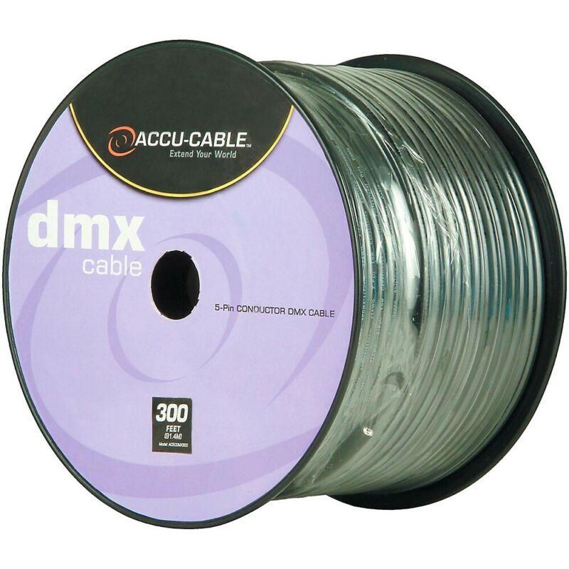 American DJ Spool 5-Pin DMX Cable 300 ft.