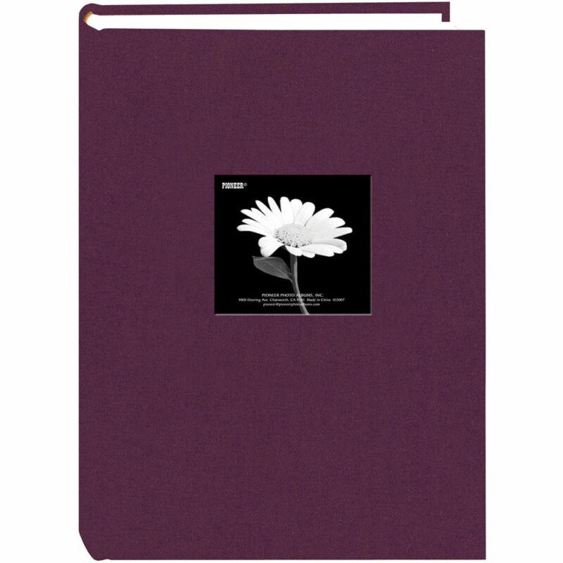 Pioneer Photo DA-300CBF Fabric Frame Bi-Directional Album Wildberry Purple