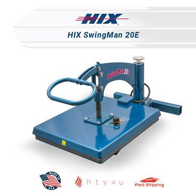 Hix Heat Press Swingman 20e