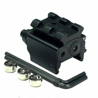 2X Tactical Mini Red Dot Laser Sight 11/20mm Rail Mount F Rifle Gun Hunting - $4.99