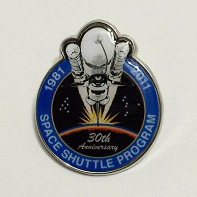 New Nasa Final Space Shuttle Mission Pin Contains Metal Flown on a Space Shuttle Space Shuttle Mission Pin