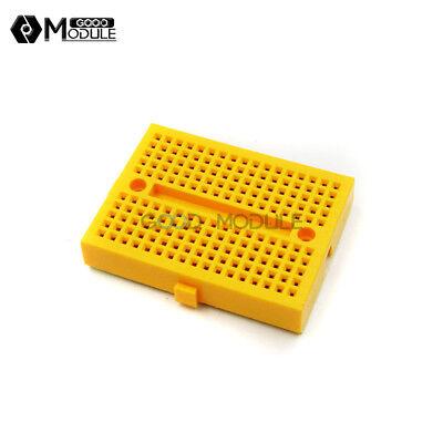 170 Tie-points Mini Solderless Prototype Breadboard Shield Yellow For Arduino