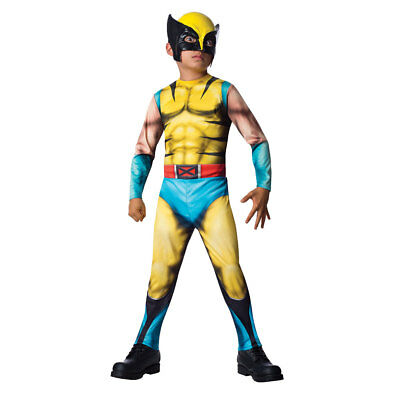 Boys The Wolverine Jumpsuit Costume Size Large - Wolverine Costume For Boys