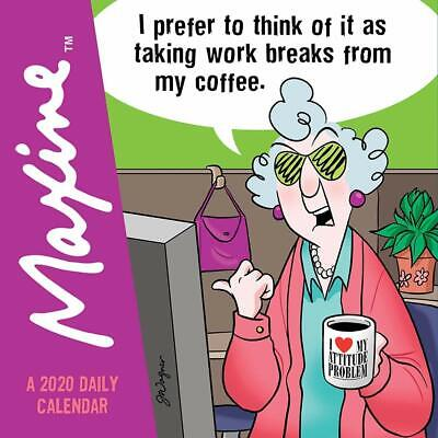 "TF Publishing, 2020 Maxine Desk Calendar 5.5"" x 5.5"" with"