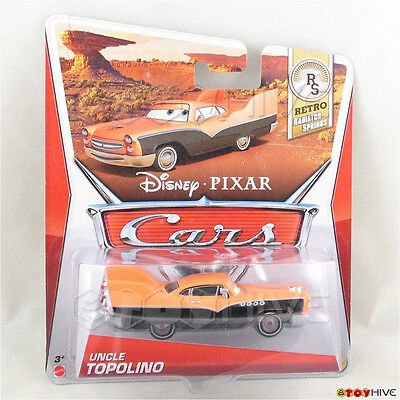 Disney Pixar Cars 2013 Hank Halloween Murphy ERROR card Retro Radiator Springs - Disney Pixar Cars Hank Halloween Murphy