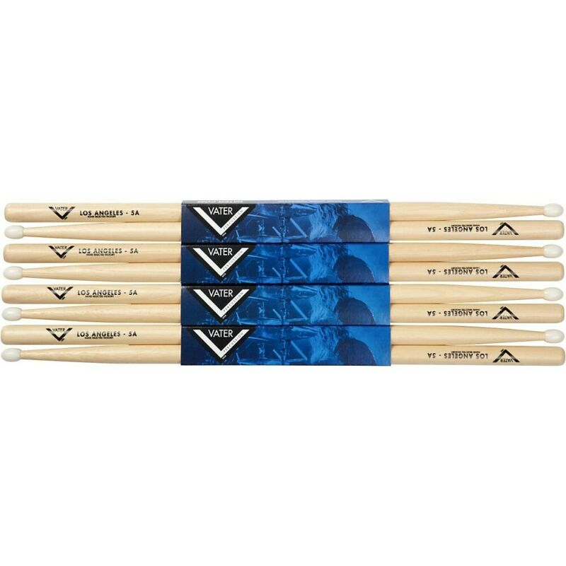 Vater Hickory Drum Stick Pre-pack Nylon 5A