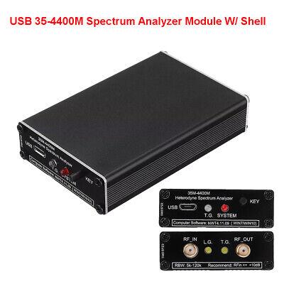 Usb 35-4400m Spectrum Analyzer Signal Frequency Tracking Source Module W Shell