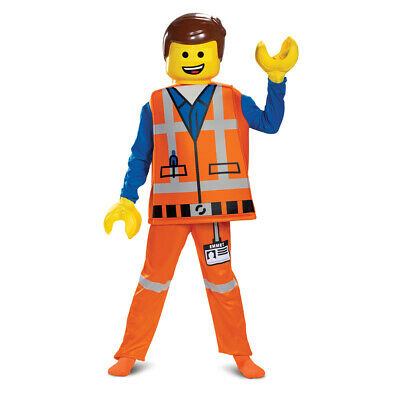 Boys Deluxe Emmet LEGO Movie Construction Worker Costume](Lego Emmet Costume)