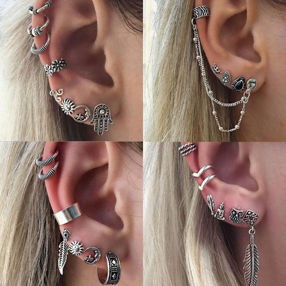 Jewellery - UK BOHO EARRING SETS Gypsy Bohemian Ethnic Tribal Punk Gothic Jewellery Gift