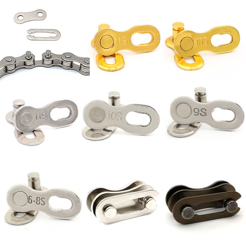 Speed MTB Buttons Quick Master Link Chain Lock Set Bike Joint Bicycle Connector