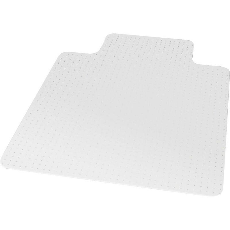 "Staples 45"" x 53"" Medium-Pile Carpet Chair Mat with Lip 599037"