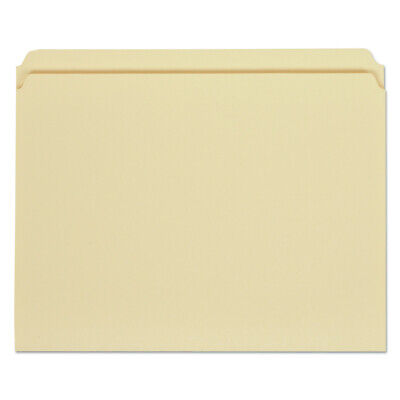 Universal 12110 100-pc. 1-ply Straight Cut File Folders - Letter Manila New