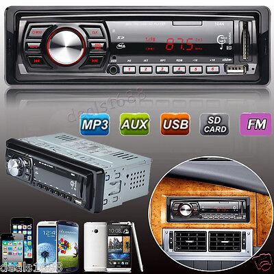 Bluetooth Car Stereo Audio In-Dash FM Aux Input Receiver FM USB MP3 Radio 2017