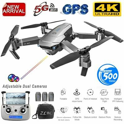 SG907 5G WIFI 4K RC Drone Dual Camera GPS Gesture Photos Video RC Quadcopter