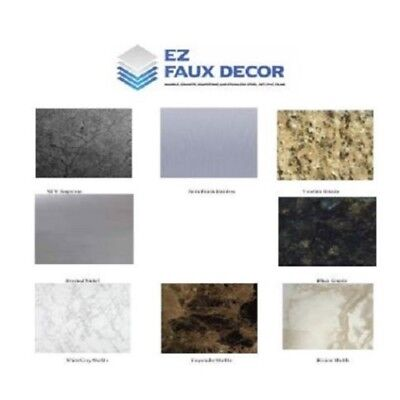 Formica Counter Top Update Faux Marble Granite Stainless Sample Set