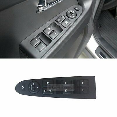 OEM Genuine Left Master Window Switch Lever Assembly for KIA 2011-16 Sportage R