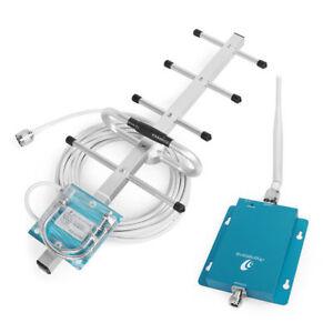 62dB-900MHz-GSM-Telefono-Celular-Amplificador-de-Senal-Repetidor-Yagi-Antena-kit