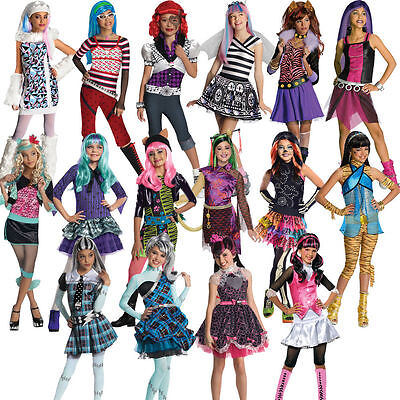Rubbies Monster High Dress Up Costume Draculaura, Frankie Stein Halloween Abbey - Draculaura Monster High Halloween Costume