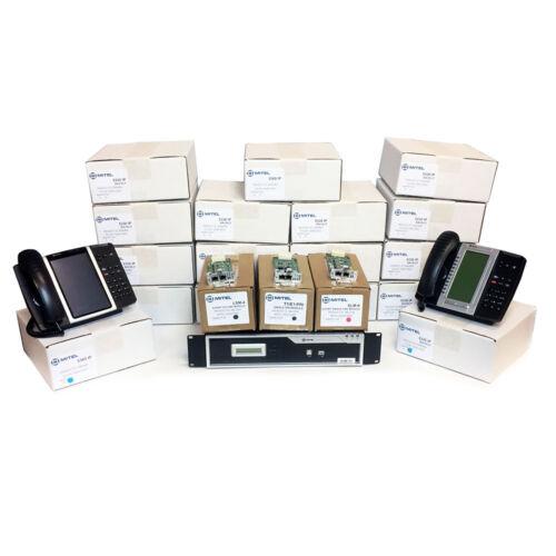 Mitel MiVoice 250 Complete IP Phone System Kit - Controller w/ 17 Mitel Phones