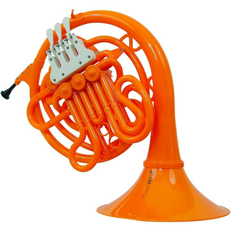 Cool Wind CFH-200 Series Plastic Double French Horn Orange 194744505904 OB