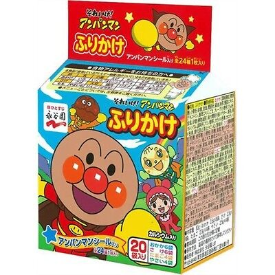 Nagatanien Anpanman Furikake Sprinkled Rice Seasoning Mini Pack 20 Bags Japan